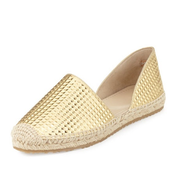 1ba3244584b99 Jimmy Choo Shoes | Gold Espadrilles | Poshmark